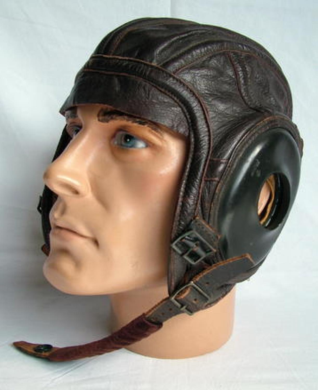 USAAF/U.S.N. AN6540-2L Flying Helmet