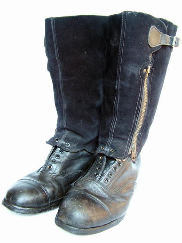 RAF 1943 Pattern Escape Boots