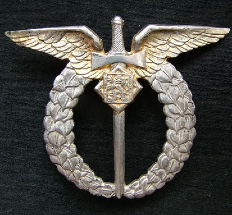 Czechoslovakian Pilot's Badge