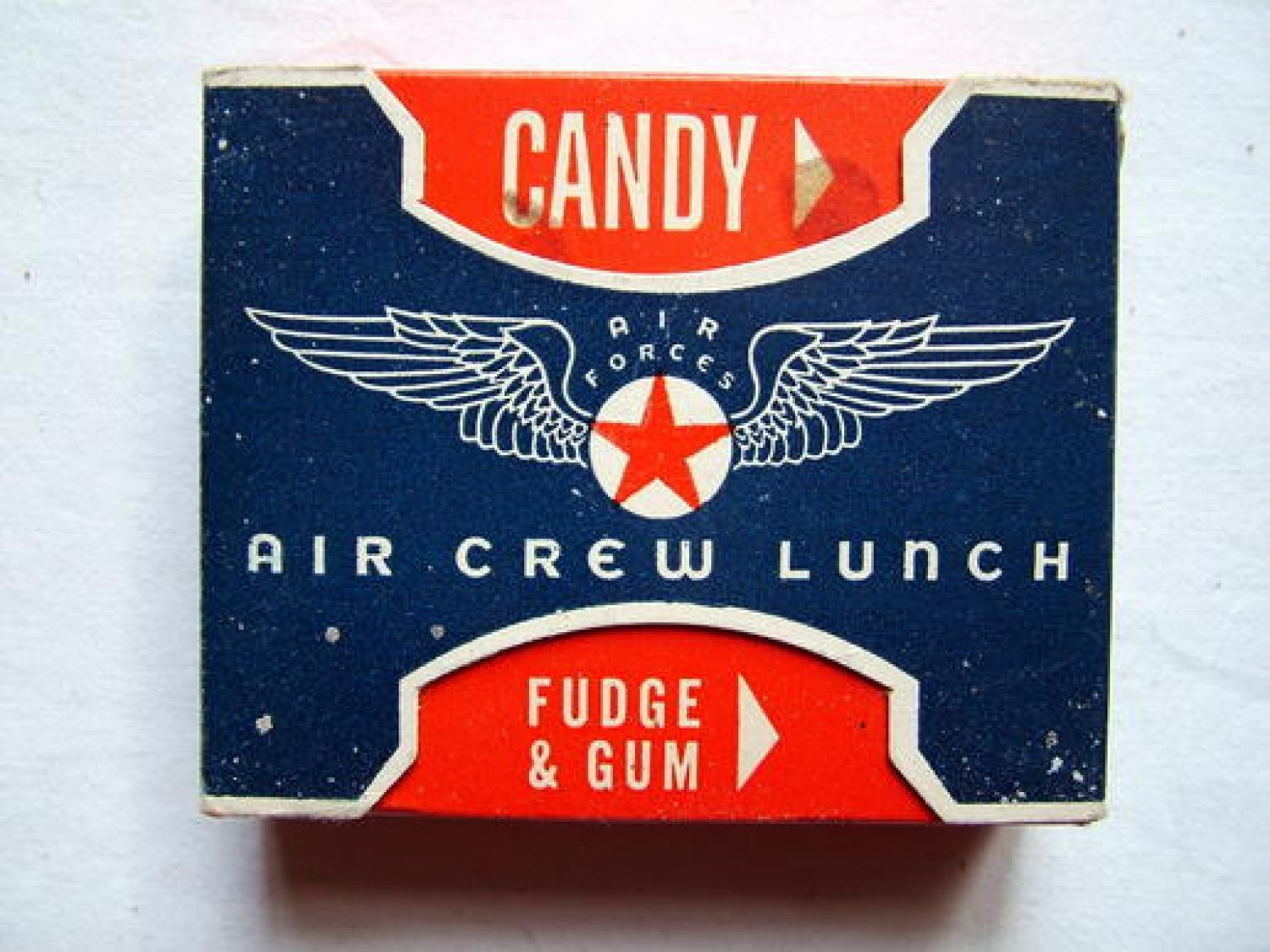 USAAF Air Crew Lunch Candy Ration