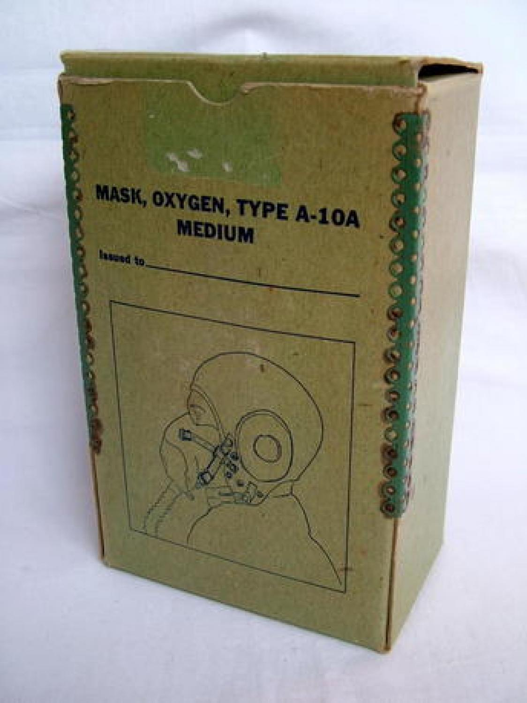 USAAF A-10A Oxygen Mask - Boxed