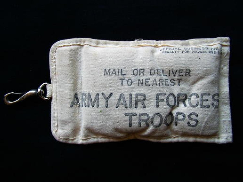 USAAF Aerial Message Bag