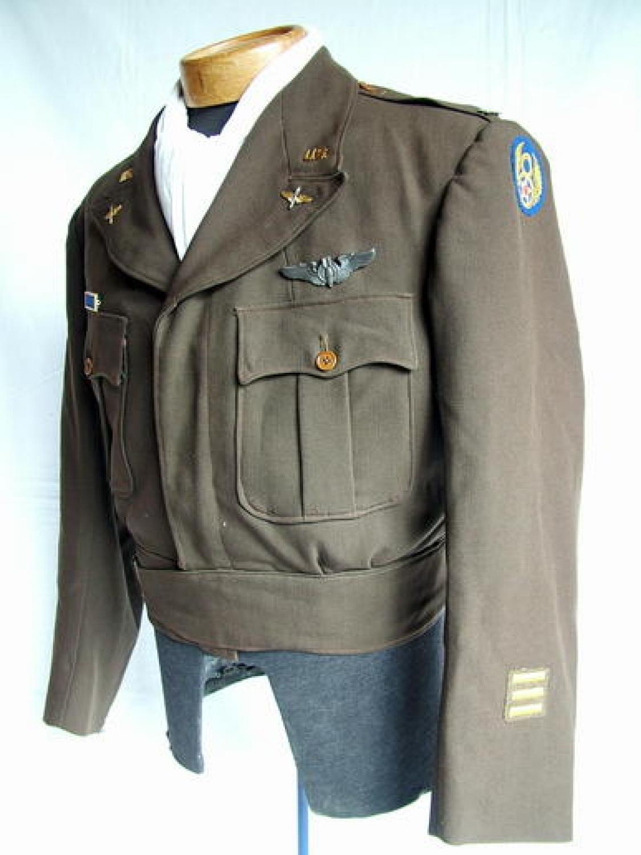 USAAF 8th AAF Officer 'Ike' Jacket - English