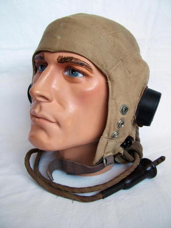 RAF D-type Flying Helmet, Late Patt.