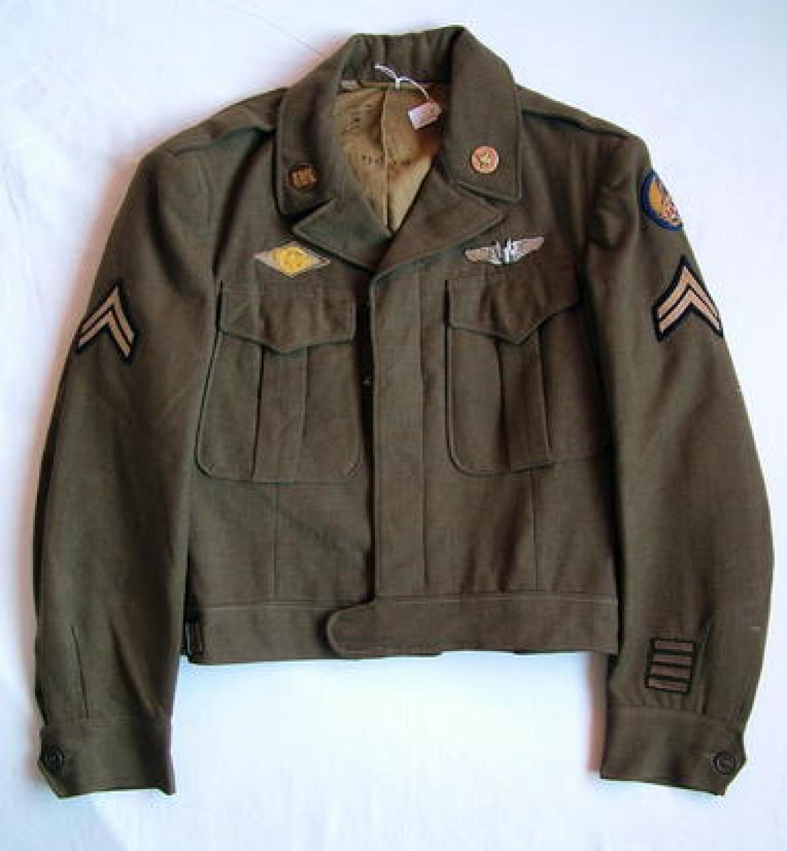 USAAF 8th AAF Enlisted Mans' 'Ike' Jacket