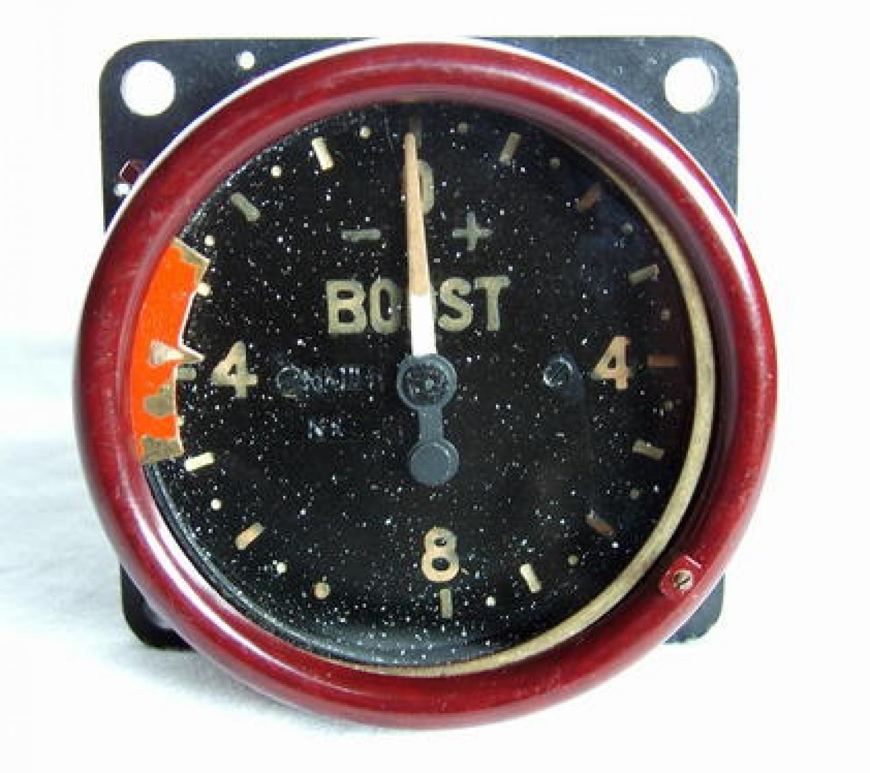 RAF MK.IIIH Boost Guage