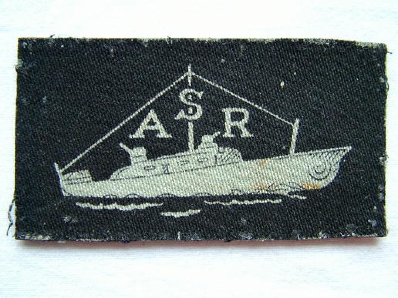 RAF Air Sea Rescue Sleeve Insignia