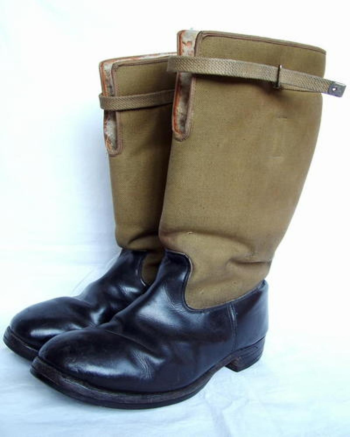 RAF 1939 Pattern Flying Boots