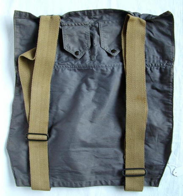RAF 'Beadon' Flying Suit Backpack - History