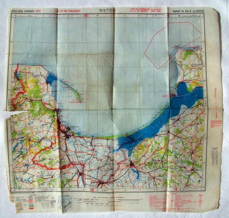 Rare Air Ministry Escape Map - Danzig