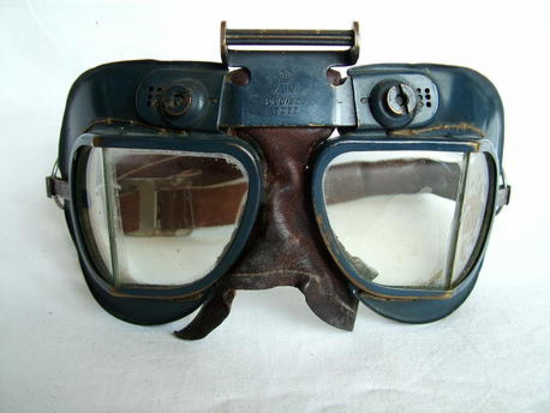 RAF MK.VII Flying Goggles - Newey Strap