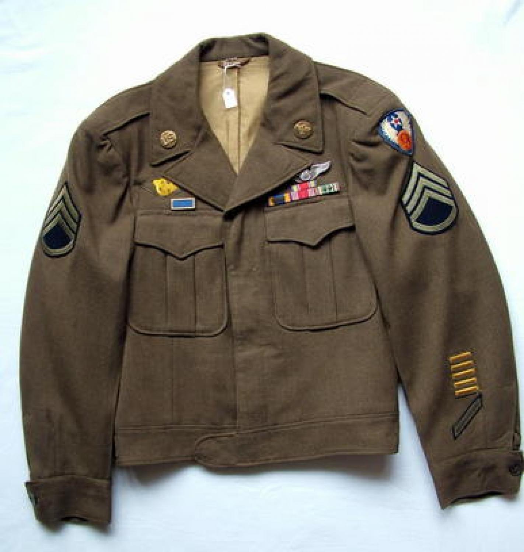 USAAF 9th AAF Enlisted Mans' 'Ike' Jacket