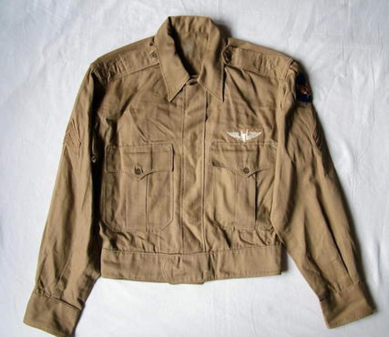 USAAF Enlisted Mans Summer 'Ike' Uniform