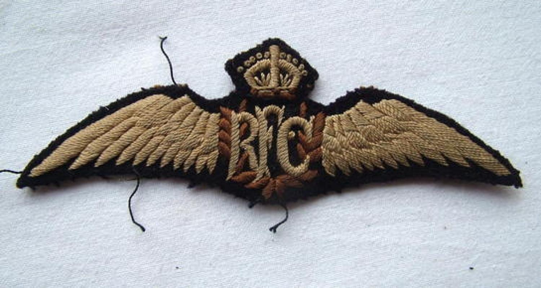 RFC Pilot Wings