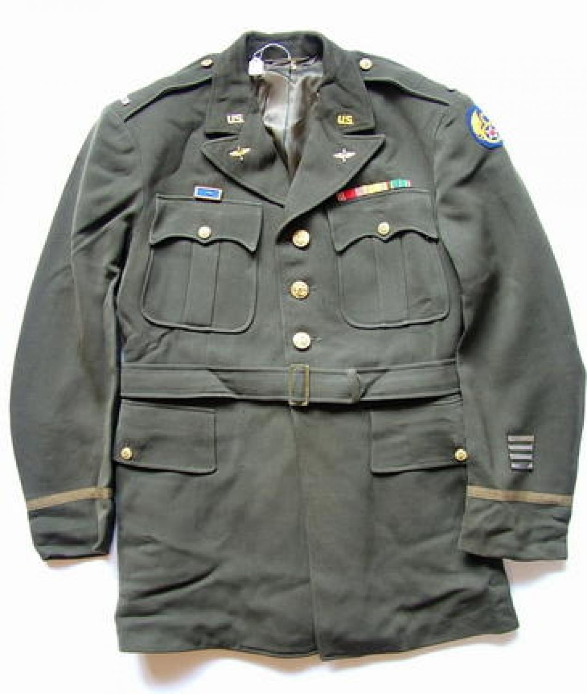 USAAF 8th AAF Officer's Chocolate Tunic