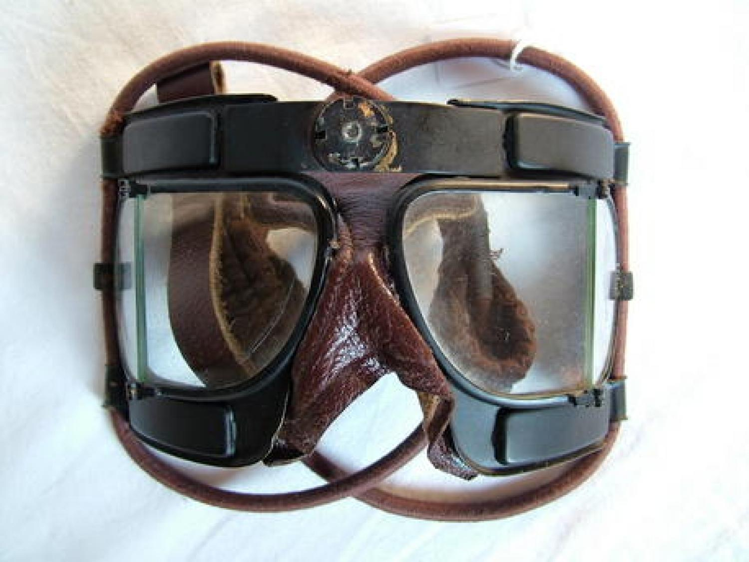 RAF MK.IV Flying Goggles/Boxed/Spares