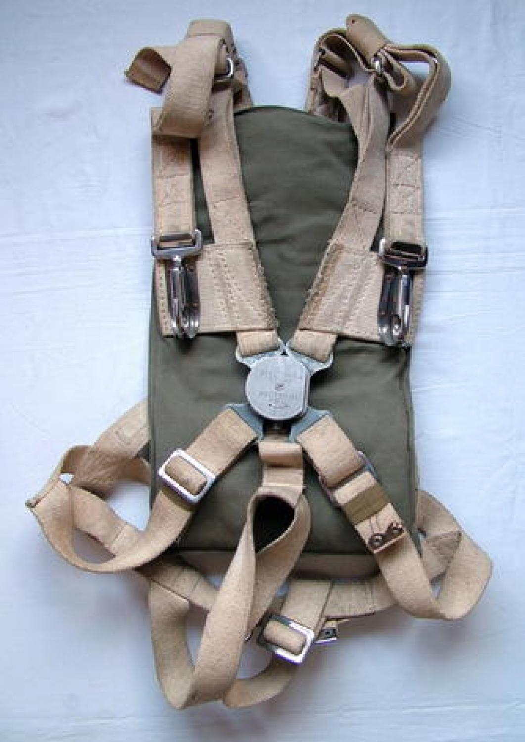 RAF/RCAF Observer Type Parachute Harness