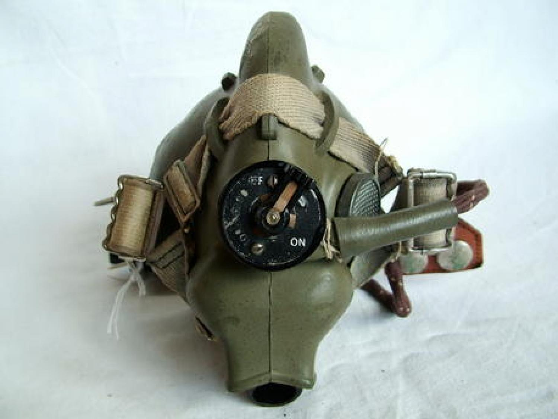 RAF H-type Oxygen Mask - WW2 Dated