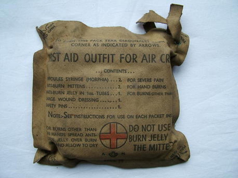 RAF First Aid Outfit For Air Crews, MK.II