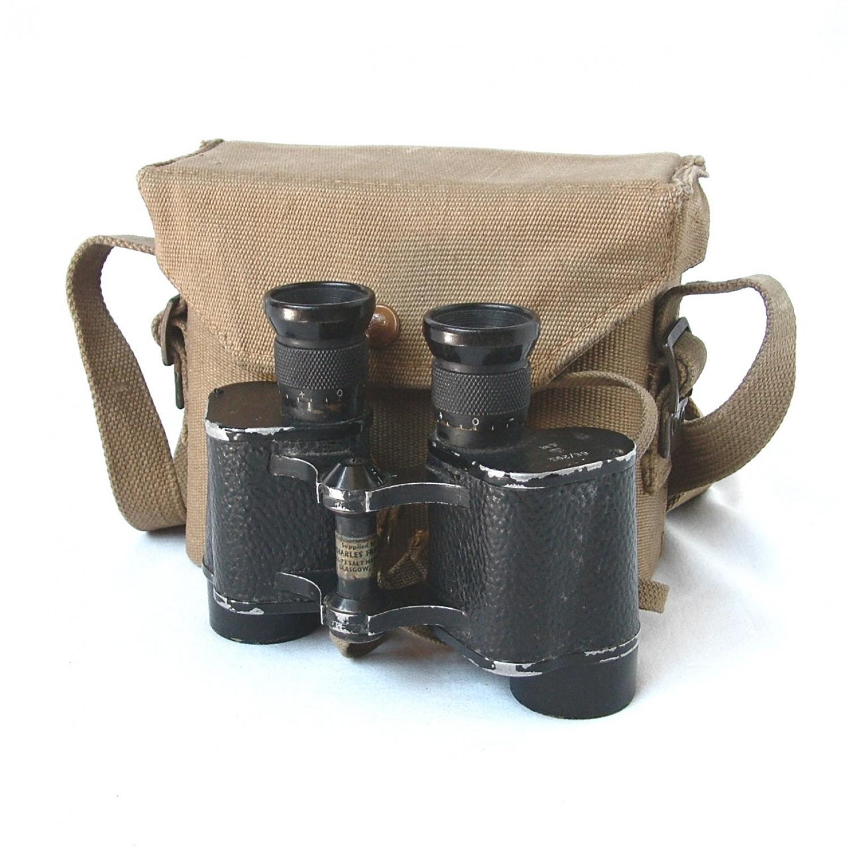 RAF Binoculars, Cased