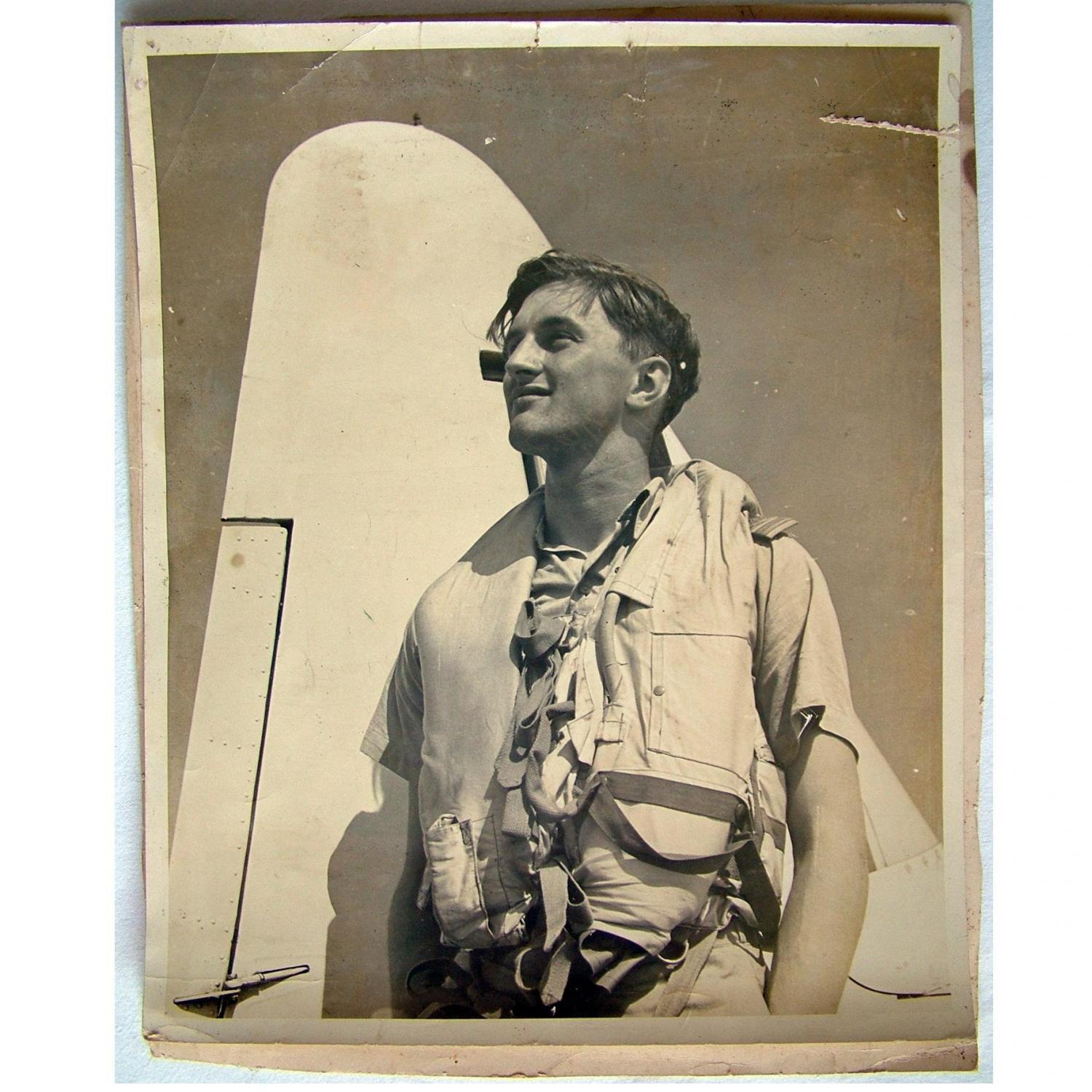 Photo - RAF Airman In Mae West