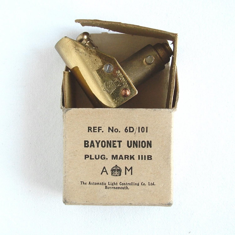 RAF MK.IIIB Bayonet Oxygen Tube Plug