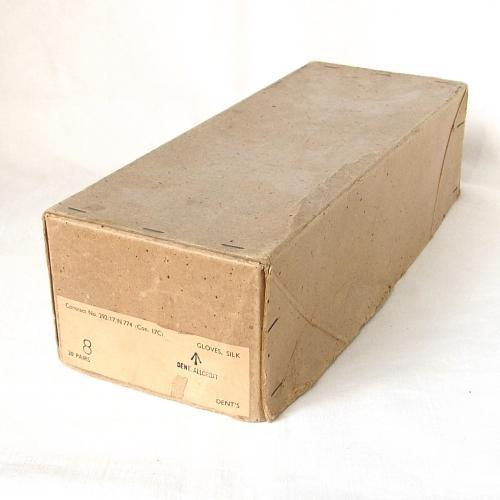 RAF Silk Flying Glove Box