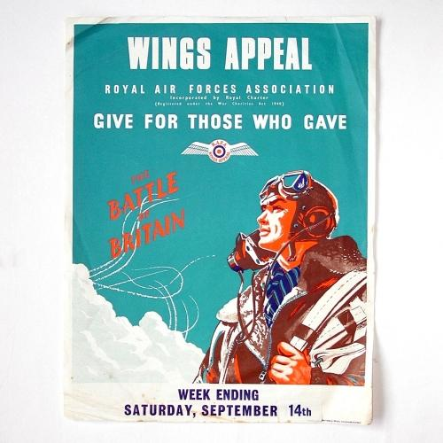 Battle of Britain Wings Appeal Poster