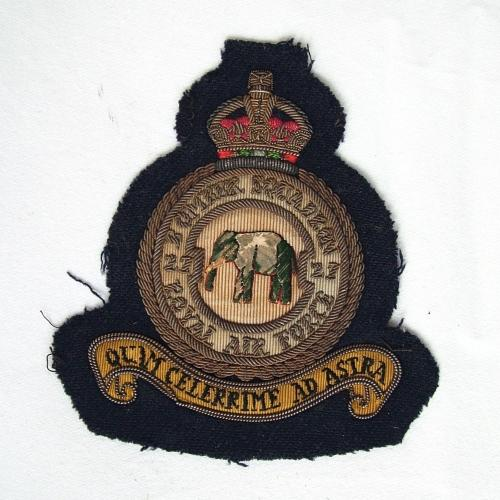 RAF 27 Squadron Patch