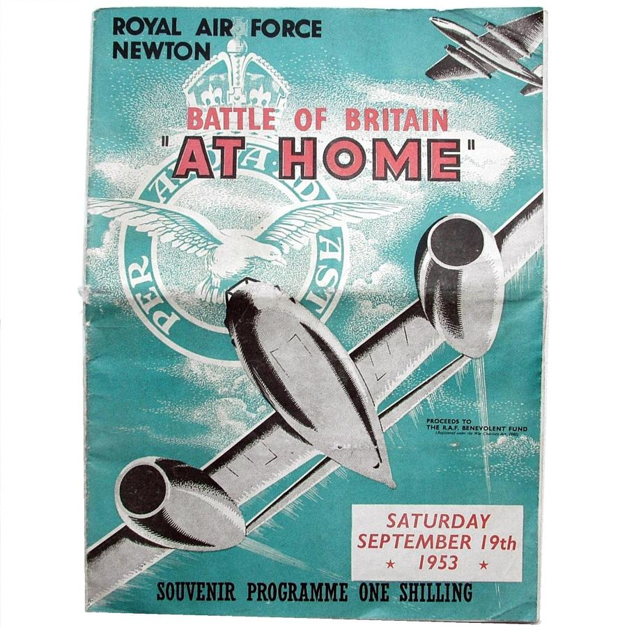 RAF Battle of Britain Programme, 1953