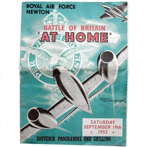 RAF Battle of Britain Programme, 1953
