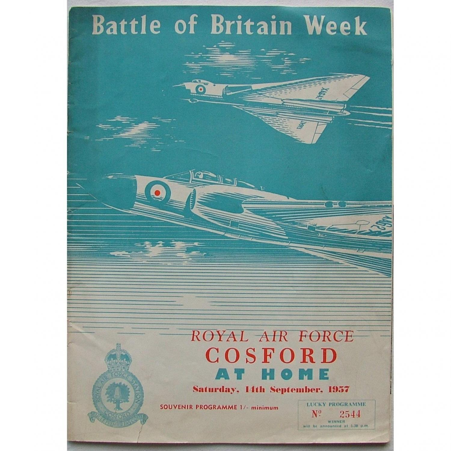 RAF Cosford Battle of Britain Programme