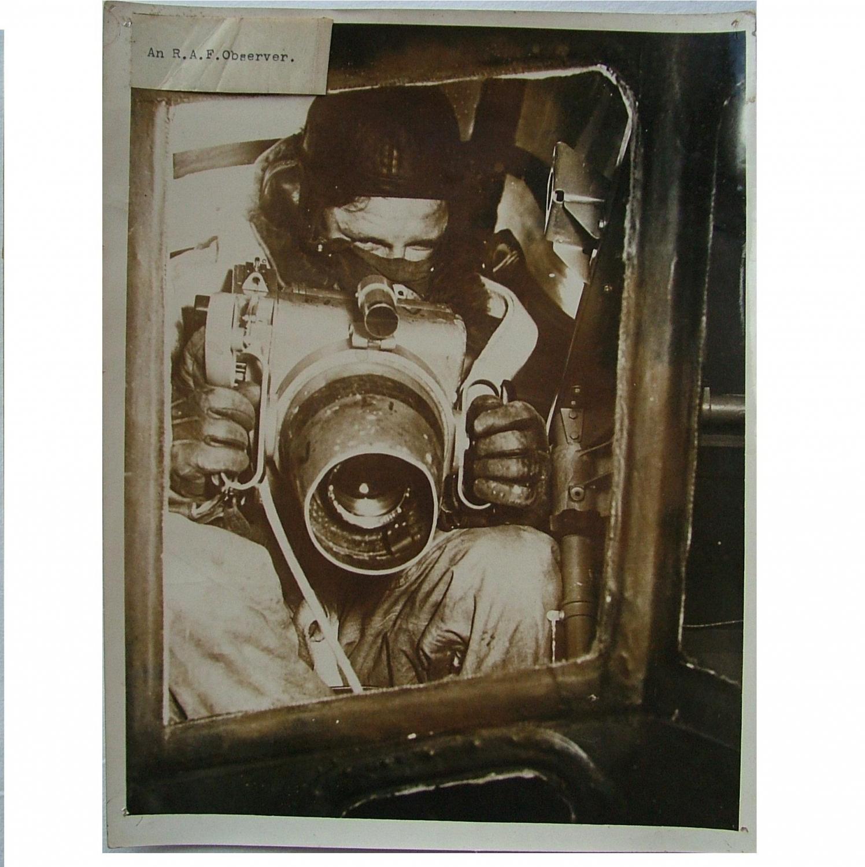 RAF Press Photo - Observer