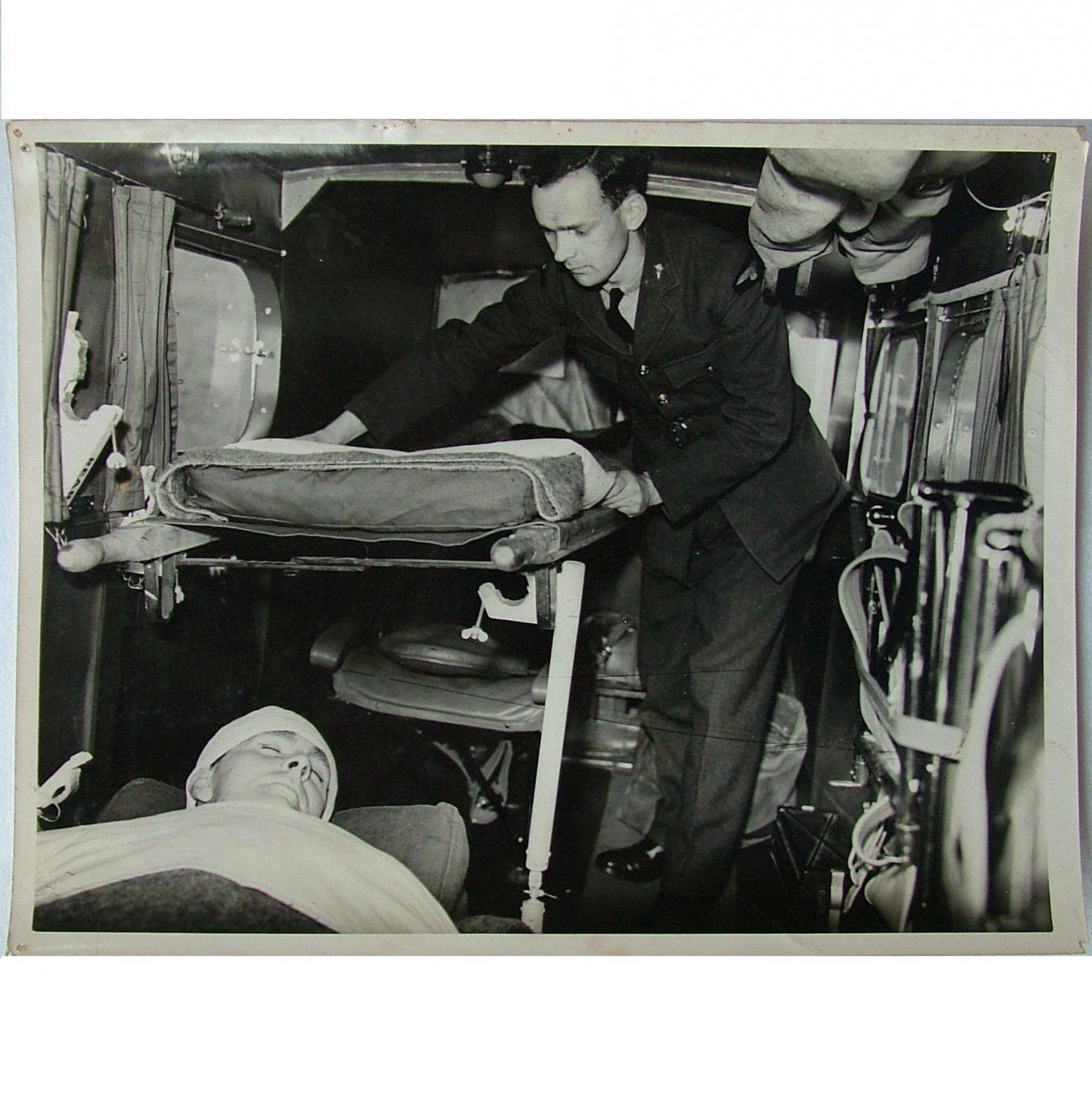 RAF Press Photo - Air Ambulance