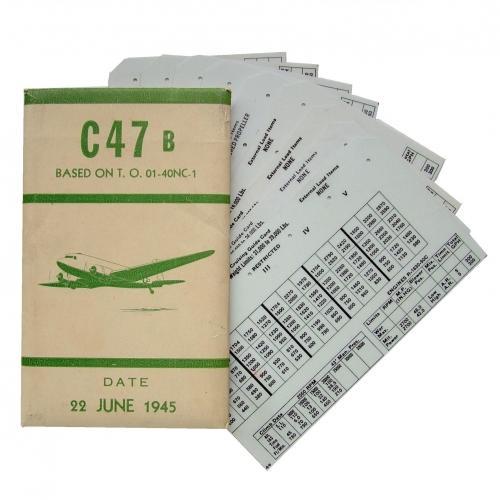 USAAF C-47 Aircraft Flight Operation Cards