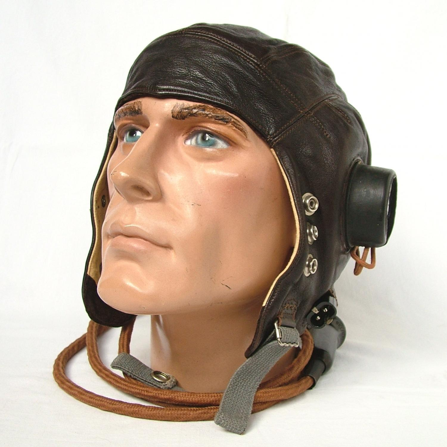 RAF C-type Flying Helmet - 1st Late Pattern