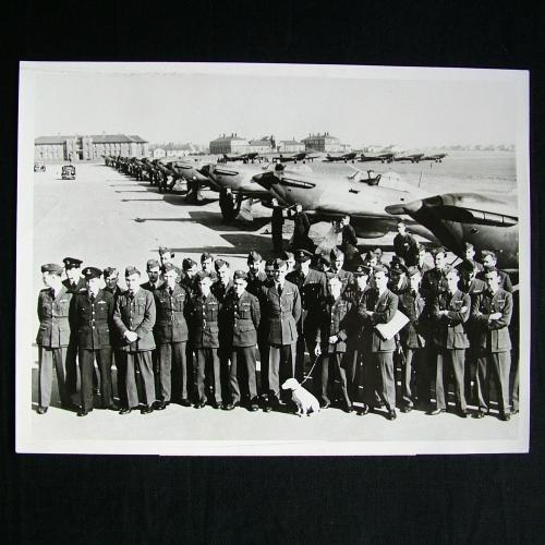 RAF Press Photo - Northolt, 1938