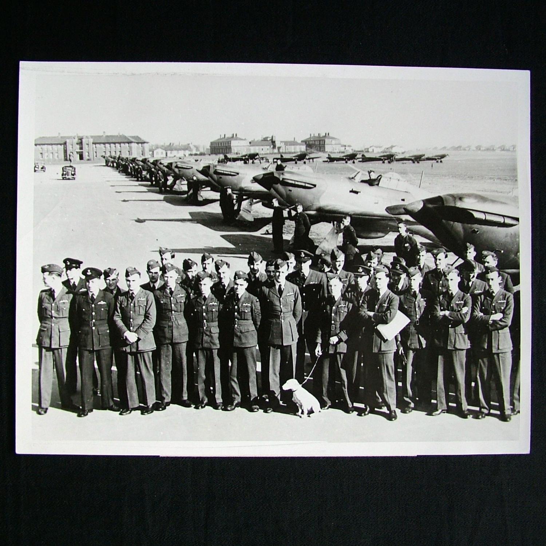 RAF Press Photo - Northolt, 1938