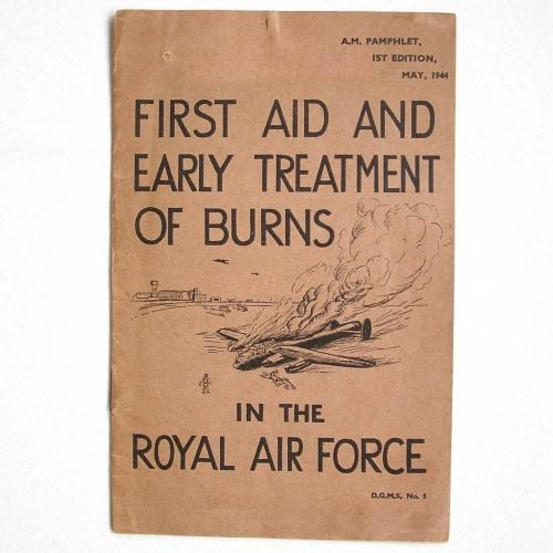 RAF First Aid & Early Treatment of Burns