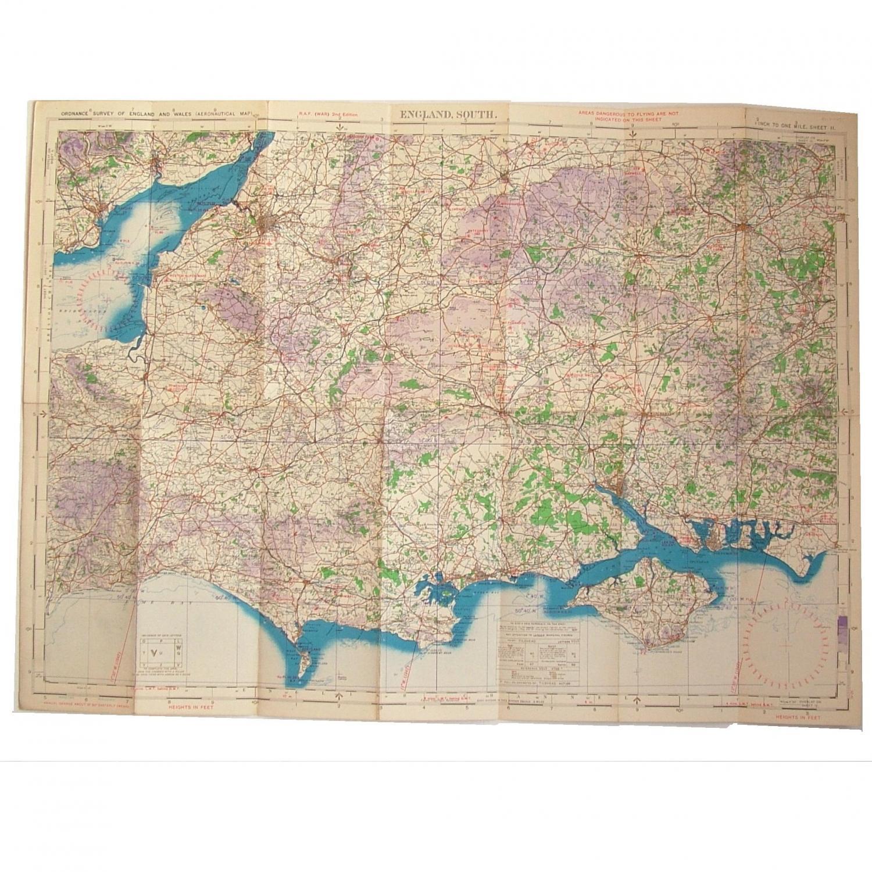 RAF Flight Map - England, South