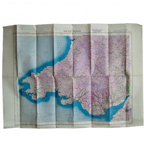 RAF Flight Map - South Wales