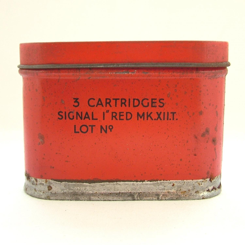RAF Survival Dinghy Flare Tin