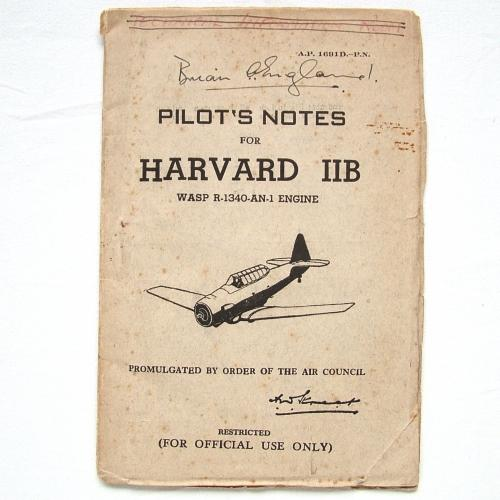 RAF Pilot's Notes : Harvard IIB