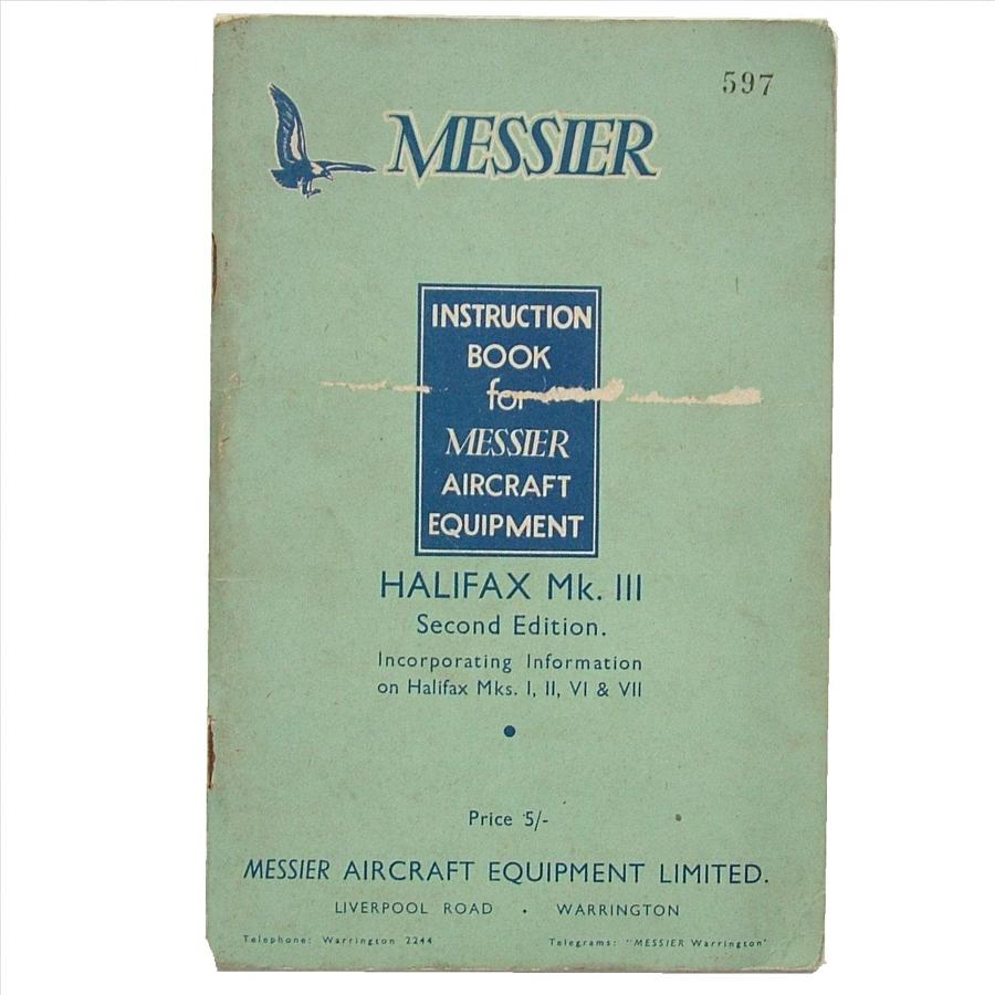 Handley Page Halifax Hydraulics Manual