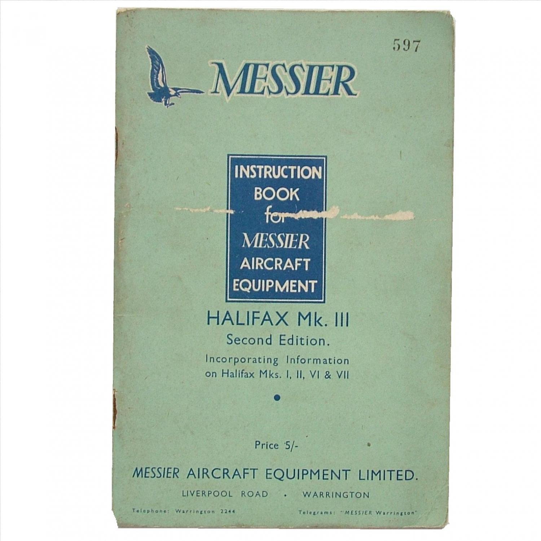 Handley Page Halifax Hydraulics Manual