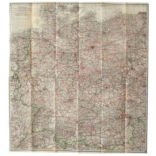 RAF Tissue Paper Escape Map - European