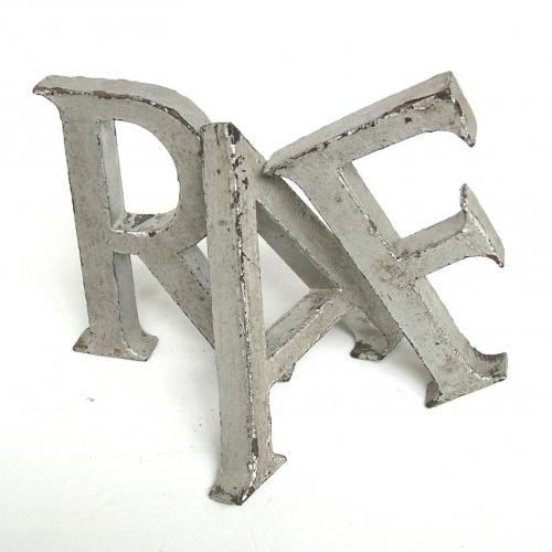 RAF Display Letters