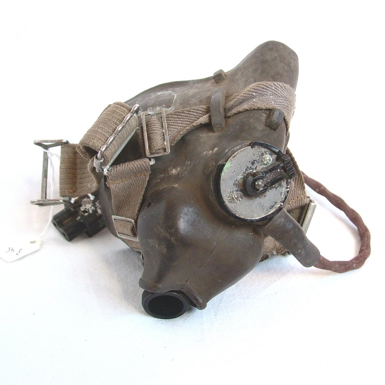 RAF Type H Oxygen Mask, WW2 Dated