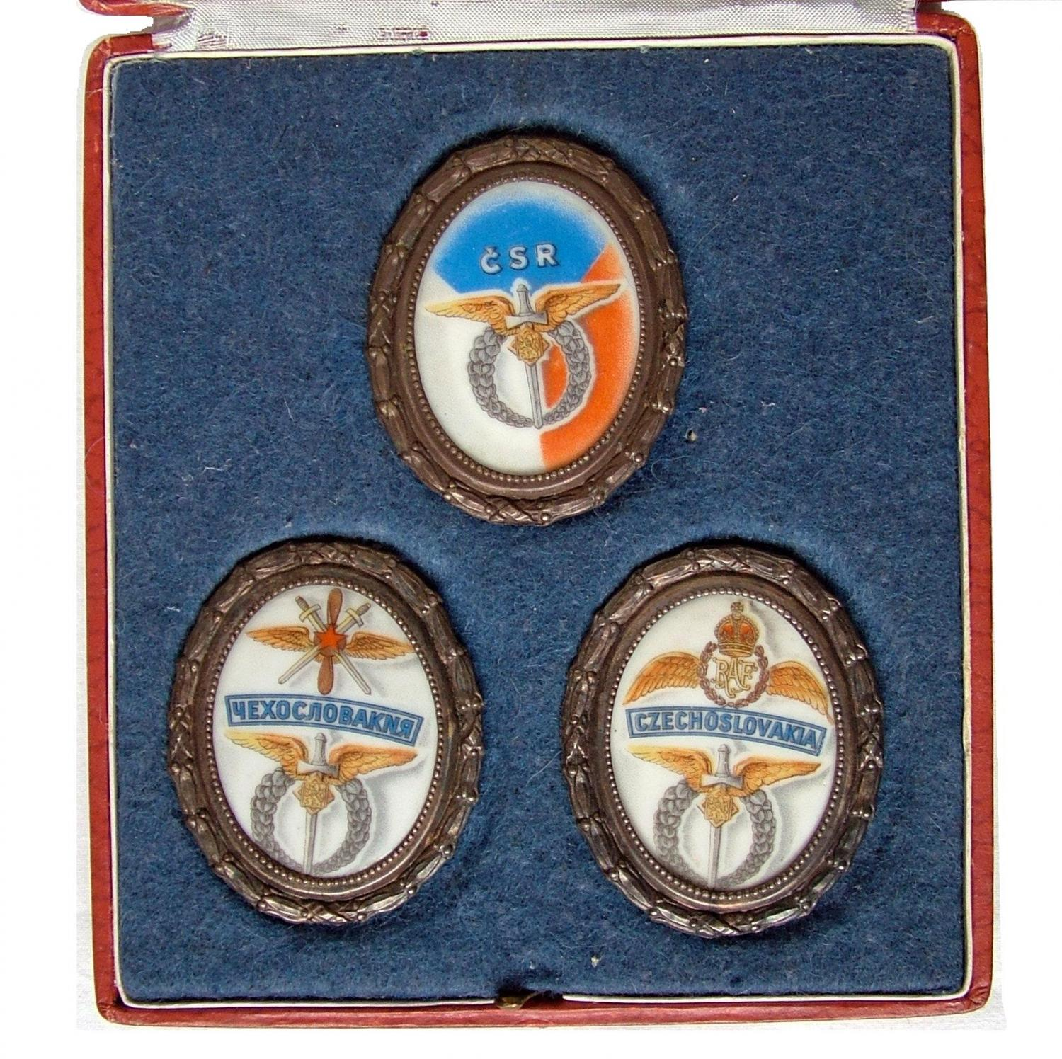 Czech National Aviation Collection Plaques