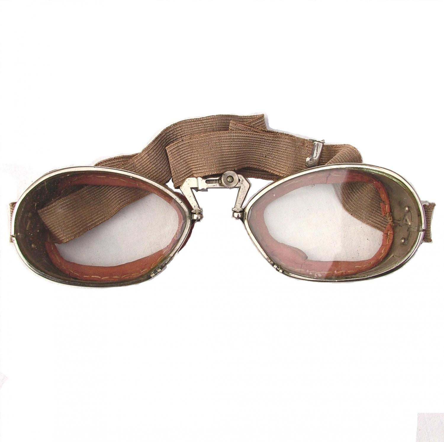 RAF 'Used' Luxor 12 Flying Goggles